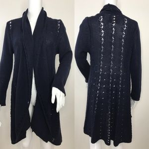 🆕 Angel of the North Anthropologie Open Cardigan